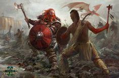 ArtStation - Vikings In America, Antonio J. Manzanedo