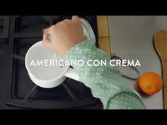 how to make an americano with cream