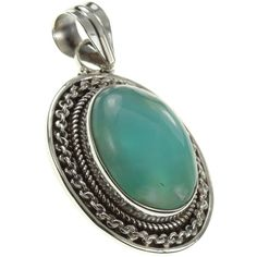"""925 Sterling Silver NATURAL LARIMAR Pendant, 1.5"""". BeadsTreasury Product Description BeadsTreasury provides our customer with high quality handcrafted jewerly in affordable price. Most of our jewelry are handcrafted, thus every pieces of jewelry is UNIQUE. This 17MM NATURAL LARIMAR gemstone is crafted in 925 Sterling Silver Pendant. Its weight is 5.90g. What is 925 Sterling Silver? 925 Sterling Silver jewelry is composed with 92.5 percent silver and 7.5 percent copper. It is found to be…"""