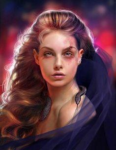 Fantasy Art: The Women on Pinterest | deviantART, Fantasy Art and ...