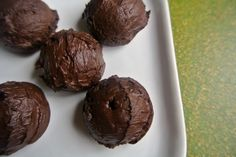 Three-Ingredient Low-Carb Chocolate Truffles... 9 ounces heavy cream; 1/2 cup Pyure Stevia Blend Sweetener; 1 package best quality unsweetened baking chocolate (4 ounces), chopped...