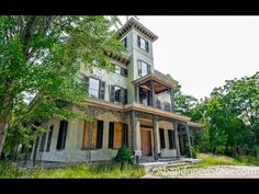 Exploring a Vacant Italianate Mansion Pennsylvania - YouTube
