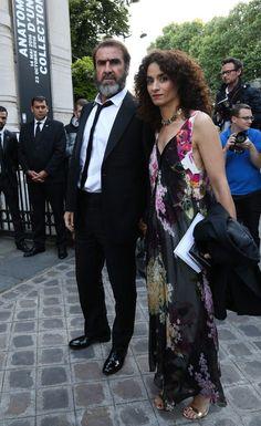 Les comédiens Eric Cantona et Rachida Brakni