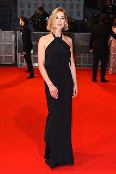 Rosamund Pike in Roland Moret at the BAFTAs