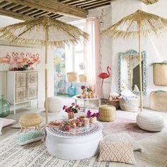 Tela fenicotteri rosa, 140x70 | Maisons du Monde