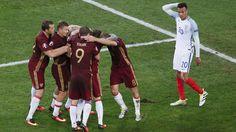 Inglaterra vs Rusia: