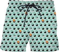 ba3707a0ae894 Slime Polka Dots Swim Shorts - All Over Print Swim Shorts - All Over Print Swim  Shorts