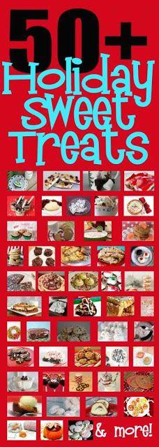 Recipes For 50 Christmas Sweet Treats