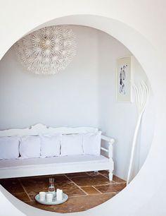 a stylish house on mykonos, greece | THE STYLE FILES