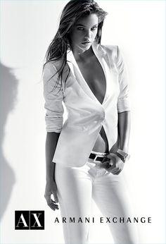 Barbara Palvin, Armani Exchange - A/X Summer Pop Campaign 2012 #fashion #campaign