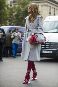 Pin for Later: The Best Street Style From All of Paris Fashion Week Paris Fashion Week, Day 7 Anna Dello Russo.