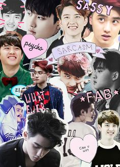kyungsoo collage // new wallpaper :*