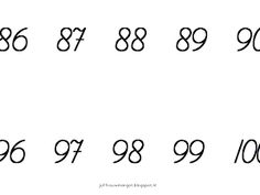 Rekenen - getallenlijn tot 100 - Google Drive