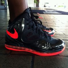 Nike Air Max Hyperposite  Black Bright Crimson  Rounding out the latest  looks at the upcoming Nike Air Max Hyperposite is this Black Bright Crimson  version ... f691ee0e7