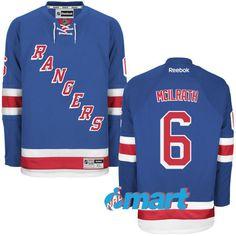 New York Rangers Reebok Custom Home Centennial Patch Premier Jersey - Royal 1b2ab5983