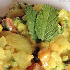Creamy Coconut Rice Dinner (Wheat free, dairy free, meat free): Detox recipe 4 of 21
