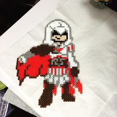 Assassin's Creed  perler beads  by cparri