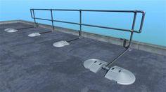 KeeGuard Foldshield - Durchdringungsfreie Geländer