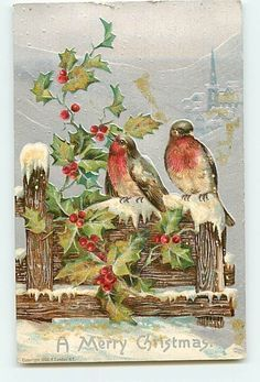 vintage christmas garden cards - Google Search