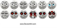 Timothy the ghost Engine faces.