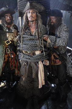 Johnny Depp Is All Tied-Up In First Official Photo From PIRATES OF THE CARIBBEAN 5