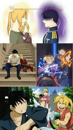 I want more friendship between these two, it would be the best! Full Metal Alchemist, Fullmetal Alchemist Brotherhood, Fullmetal Alchemist Edward, Roy Mustang, Otaku, Anime Naruto, Manga Anime, Ghibli, Edward Elric