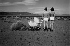 Birthday Suit #31, April 22,1976, from Lucy Hilmer's series of self-portraits on her birthday.