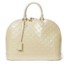 Louis Vuitton, Coral White Monogram Vernis Alma GM Bag, 2012 on Paddle8
