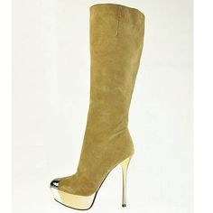 Gianmarco Lorenzi Tall Suede Boots [GLBT07] - $229.00 : I will have these before Christmas!