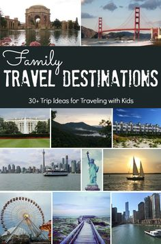 Planning a trip with Kids? Discover 30+ Trip Ideas for Traveling with Kids for the Ultimate Family Travel Destinations that are fun and budget friendly. #familytraveldestinations