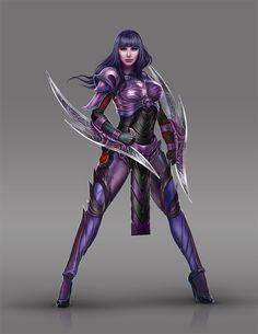 Female Assassin Concept by mos88.deviantart.com on @DeviantArt