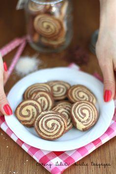 Biscuits marbrés Chocolat et noix de coco