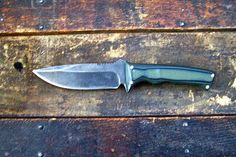 Custom D2 Steel Tactical Knife Survival Knife by HbarNCraftworks