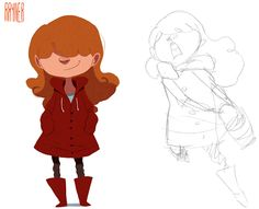 Julia She`s a characther that i`m developing for a personal project
