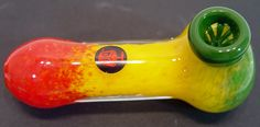 4 inch Dynomite Glass Pipe with Built In Glass Screen