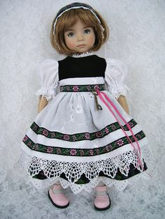 "Effner 13"" Little Darling in Bavarian Dress 