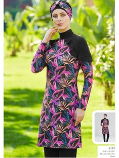 Full Cover Lycra Plus Size Burkini Swimsuit 14129 is one of the most stylish set of 2019 spring - summer collection Full Cover Lycra Plus Size Burkini Swimsuit 14129 details, Fabric is made by Pa - Elastane Swimming Gear, Swimming Costume, Bonnet Cap, Red Swimsuit, Mode Hijab, Swim Dress, Swimsuits, Swimwear, Ladies Dress Design