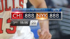 On-Screen Sports Stats by Brian McCauley, via Behance