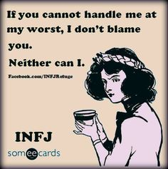 I relate as an INFJ