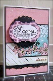 card with lots of layers