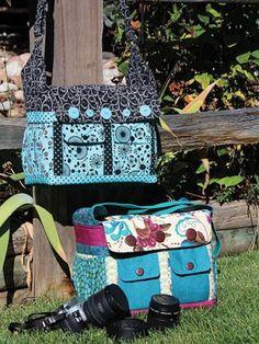 Say Cheese! Camera Bag Sewing Pattern