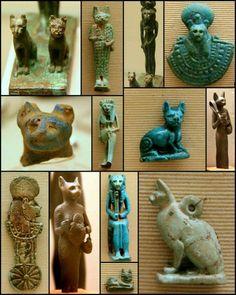 Gatos en el Antiguo Egipto.