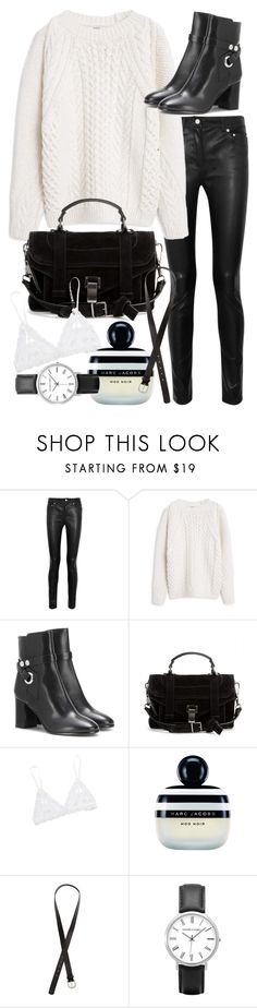"""""""Untitled #19511"""" by florencia95 ❤ liked on Polyvore featuring Acne Studios, MANGO, Isabel Marant, Proenza Schouler, Hanky Panky, Marc Jacobs, H&M, women's clothing, women's fashion and women"""