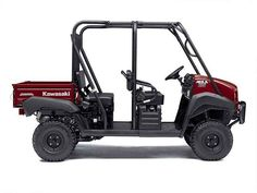 New 2016 Kawasaki Mule 4010 Trans4x4 Dark Royal Red ATVs For Sale in Ohio. 2016 Kawasaki Mule 4010 Trans4x4 Dark Royal Red, The Mule™ 4010 Trans4x4® Side x Side is a versatile mid-size two to four-passenger workhorse that's capable of both putting in a hard day of work as well as touring around the property.