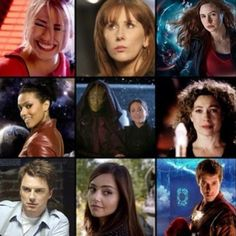 Some of the Doctors Companions