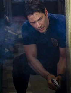 Oh my look at my handsome police officer! Hellblazer Comic, Mystic Pizza, Keanu Reeves Quotes, Cedric The Entertainer, Keanu Reaves, Little Buddha, Love My Man, Keanu Charles Reeves, Old Soul
