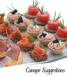 canape suggestions