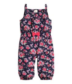 Patterned Jumpsuit - H&M US