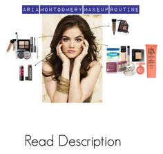 """""""Pretty Little Liars - Aria Montgomery Makeup Tutorial"""" by akirarae ❤ liked on Polyvore"""