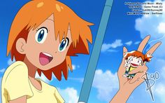 I had too, the episode reffered Misty a lot and I couldn't resist myself! Pokemon ::Misty in Alola:: Sun and Moon Edit Sexy Pokemon, All Pokemon, Pokemon Fan Art, Cute Pokemon, Pokemon Couples, Pokemon People, Pokemon Emolga, Pokemon Rouge, Pokemon Ash And Misty